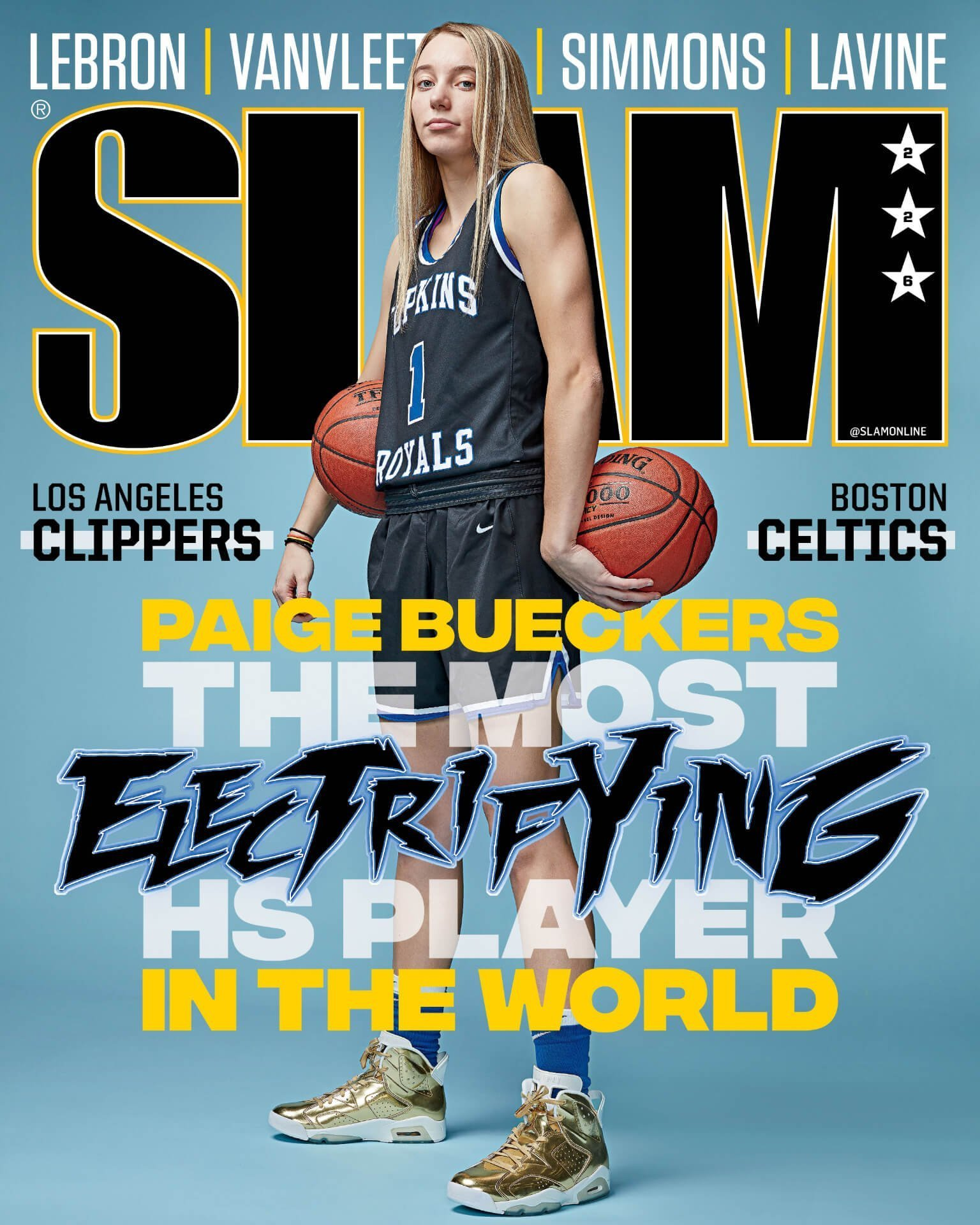 Slam Magazine Cover 2020, Paige Bueckers (High School)