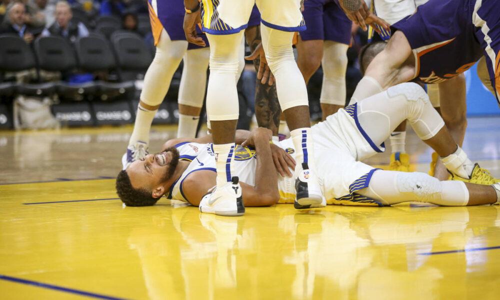 Blessure de Stephen Curry (Golden State Warriors)