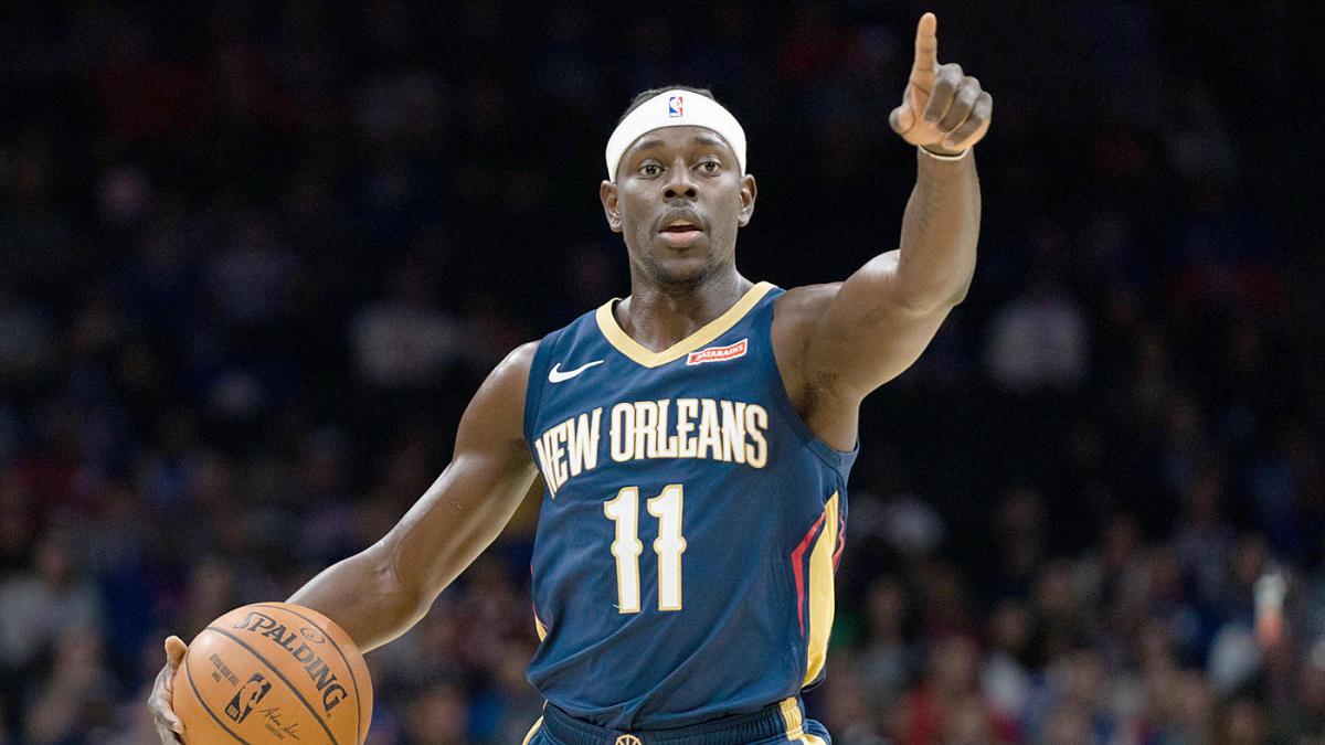 Jrue Holiday (New Orleans Pelicans) débarque aux Bucks de Milwaukee. (Photo : Bill Streicher)