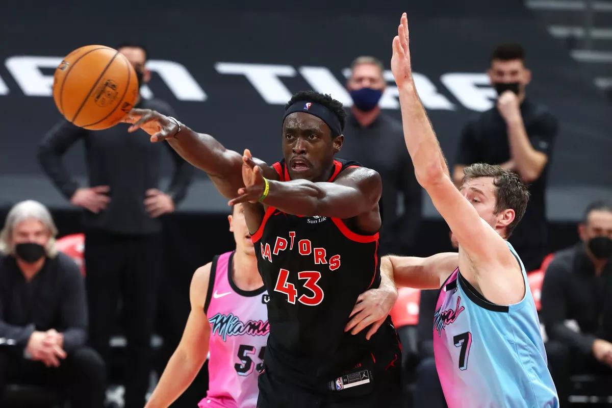 Toronto Raptors vs. Miami Heat. Photo : Kim Klemen / USA TODAY Sports
